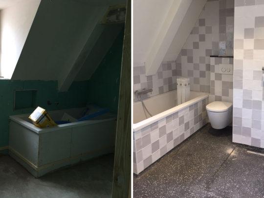renovatie - badkamer